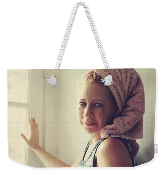 Your Sorrow Shows Weekender Tote Bag