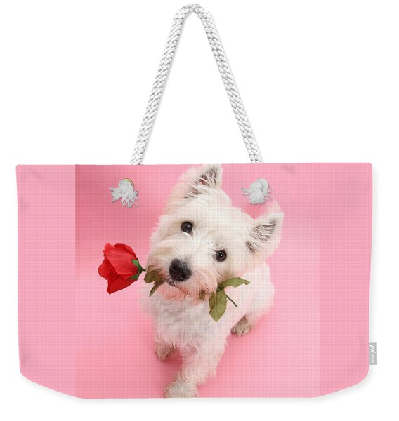 Your Valentine Every Day Weekender Tote Bag