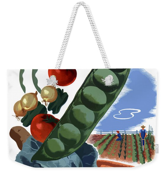 Your Victory Garden Counts More Than Ever Weekender Tote Bag