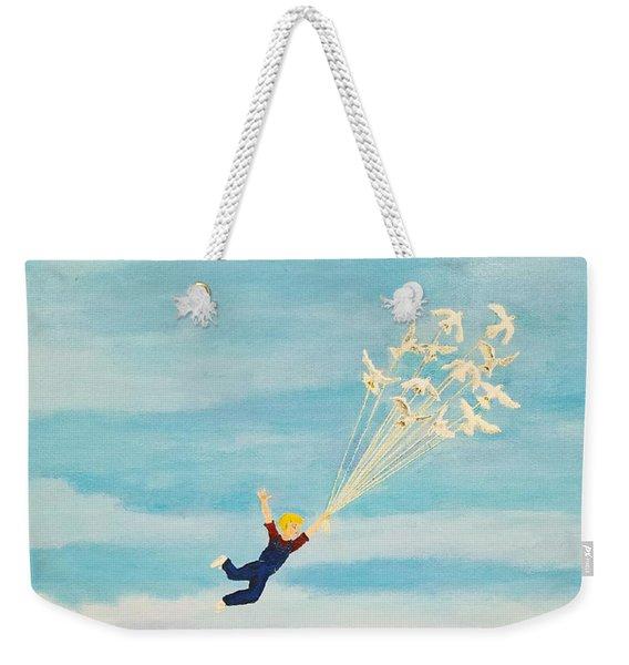 Youth Is Fleeting Weekender Tote Bag