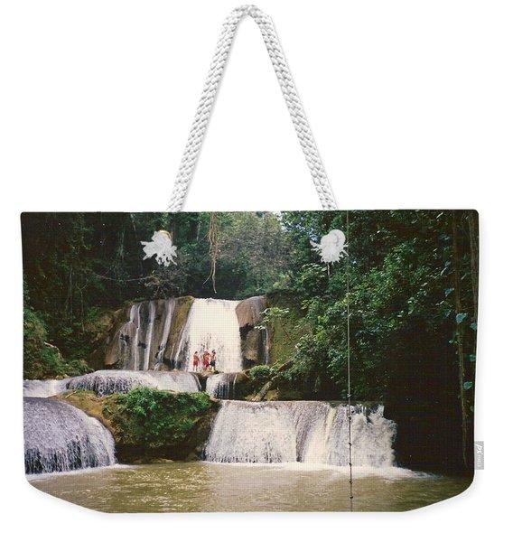 Ys Falls Jamaica Weekender Tote Bag