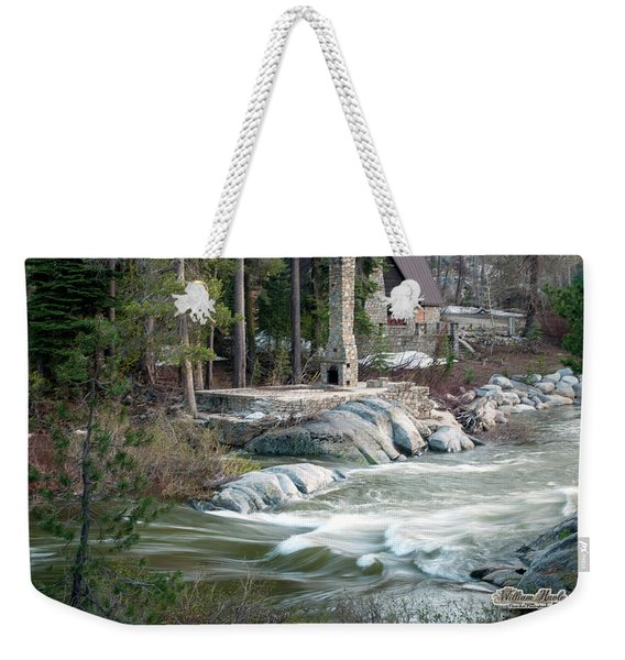 Yuba River At Rainbow Lodge Weekender Tote Bag