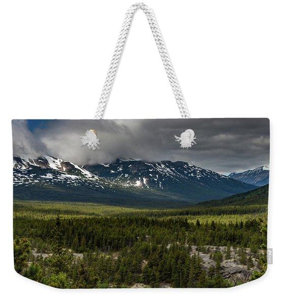 Yukon Wilderness Weekender Tote Bag