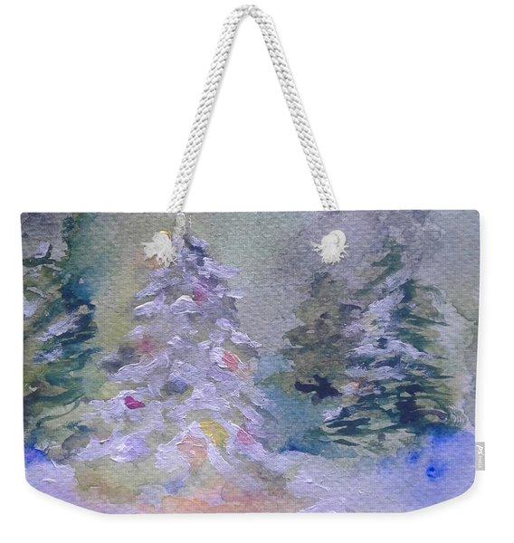 Yule Tree Weekender Tote Bag