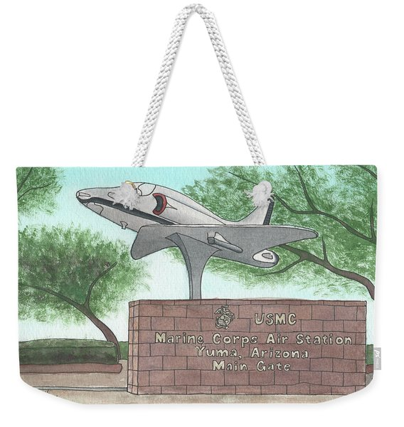 Yuma Welcome Weekender Tote Bag