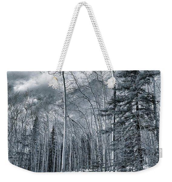 Land Shapes 35 Weekender Tote Bag