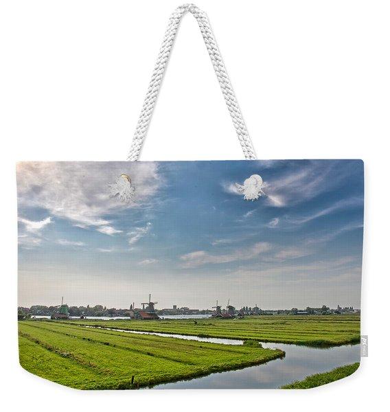 Zaandam Polders Weekender Tote Bag
