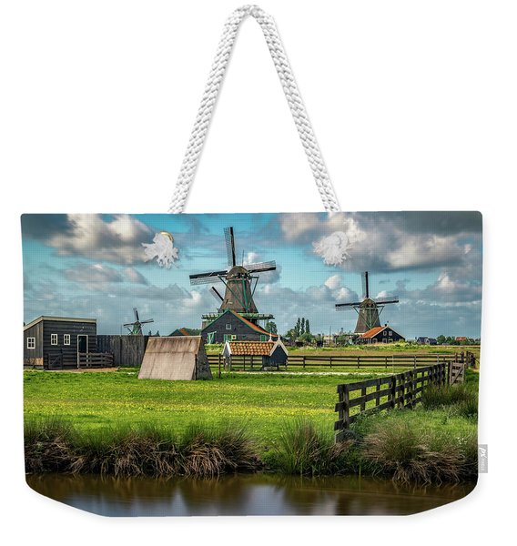 Zaanse Schans And Farm Weekender Tote Bag