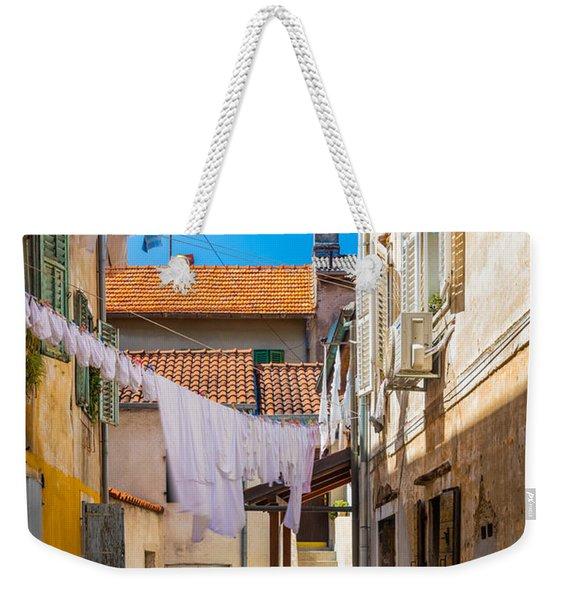 Zadar Alley Weekender Tote Bag