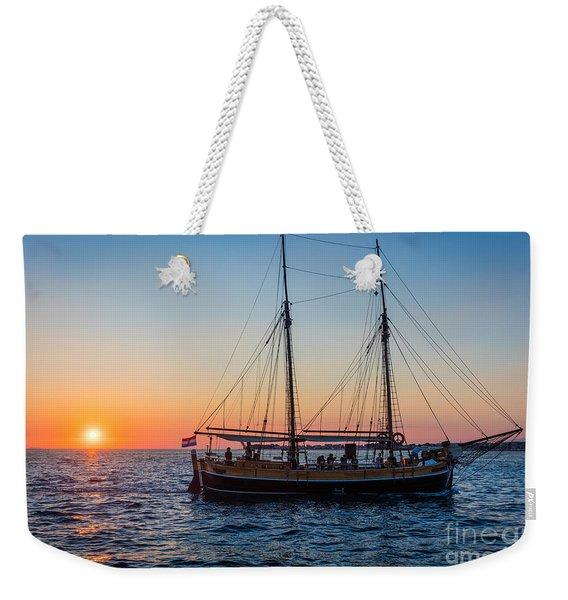 Zadar Ship Weekender Tote Bag