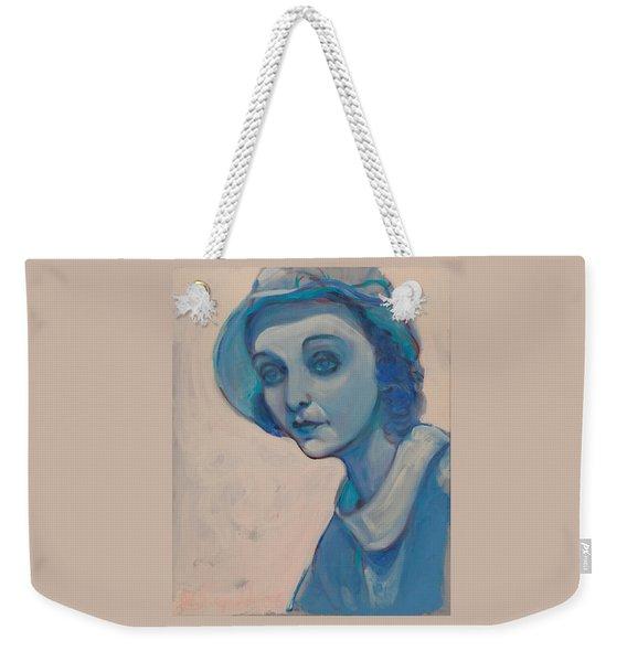 Zasu In Blue Weekender Tote Bag