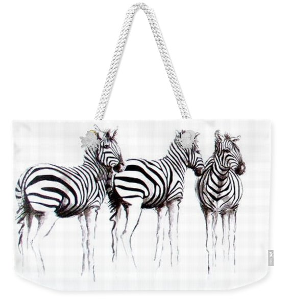 Zebbies Weekender Tote Bag