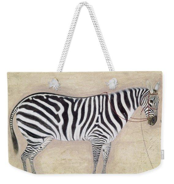 Zebra, C1620 Weekender Tote Bag
