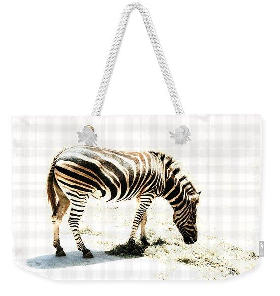 Zebra Stripes Weekender Tote Bag