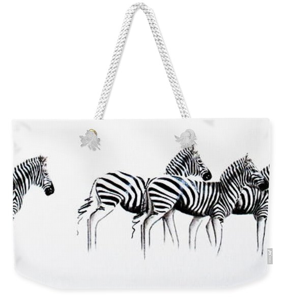 Zebrascape - Original Artwork Weekender Tote Bag