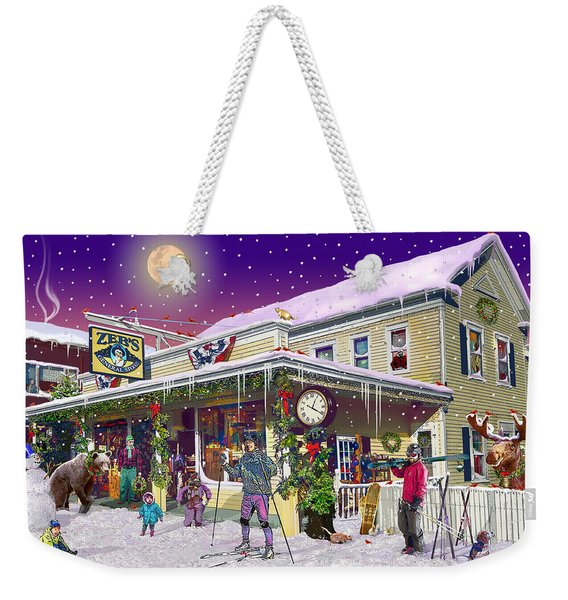 Zebs General Store In North Conway New Hampshire Weekender Tote Bag