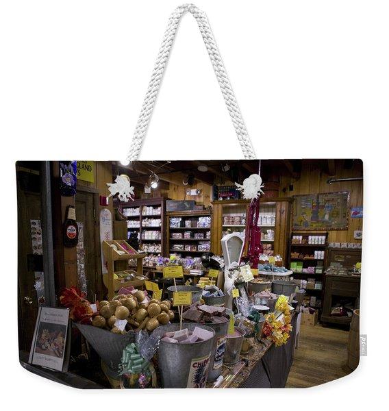 Zebs, North Conway Weekender Tote Bag