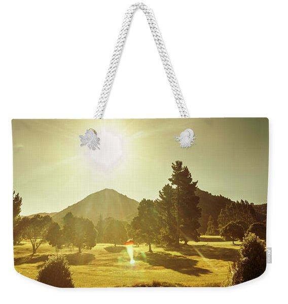 Zeehan Golf Course Weekender Tote Bag