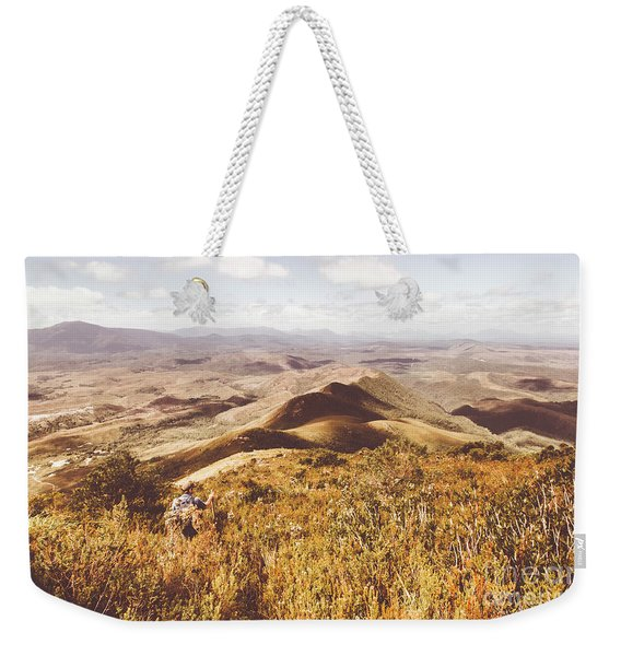 Zeehan Tasmania Weekender Tote Bag