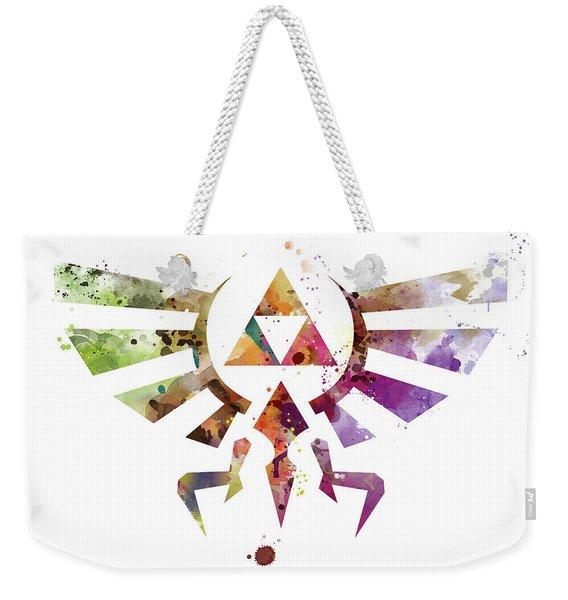 Zelda Weekender Tote Bag