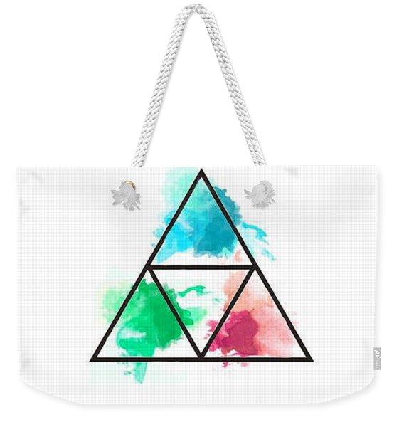 Zelda Triforce Weekender Tote Bag