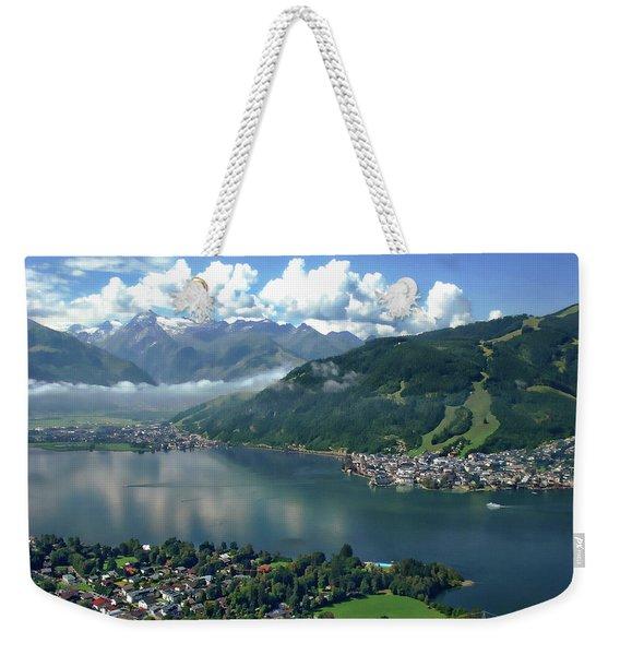 Zell Am See Panorama Weekender Tote Bag