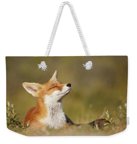 Zen Fox Series - Summer Fox Weekender Tote Bag