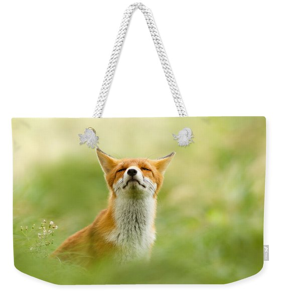 Zen Fox Series - Zen Fox Does It Agian Weekender Tote Bag