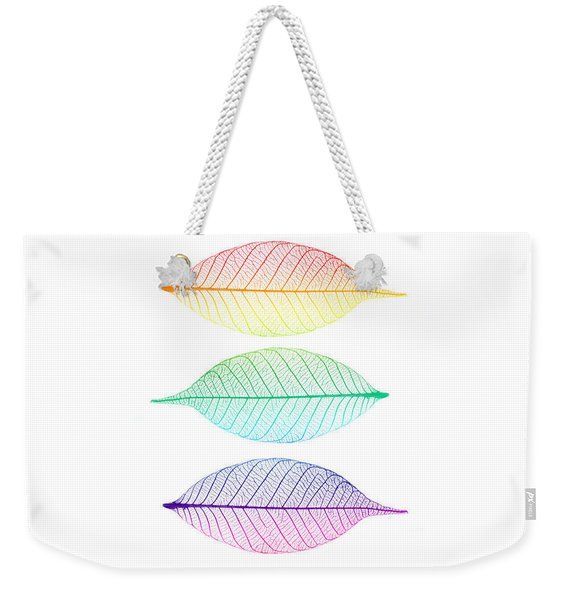 Zen Leaves Weekender Tote Bag