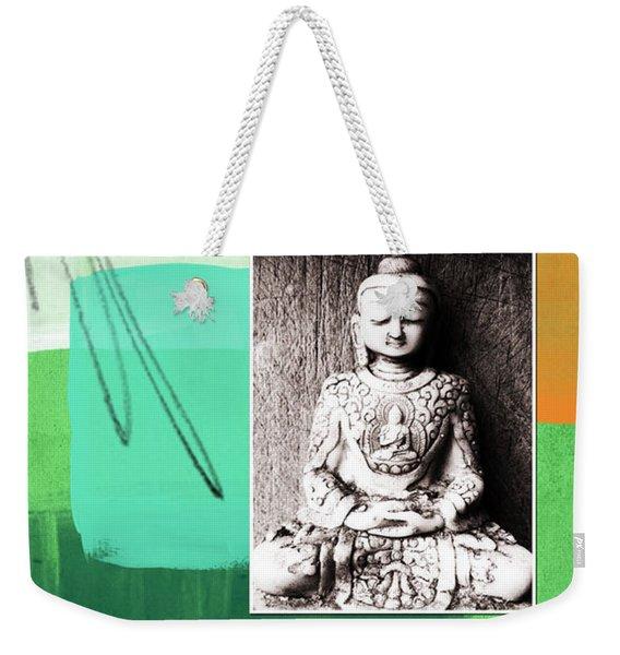 Zen Moments Weekender Tote Bag