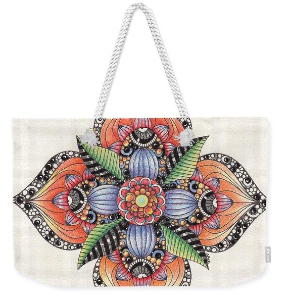 Zendala Template #1 Weekender Tote Bag