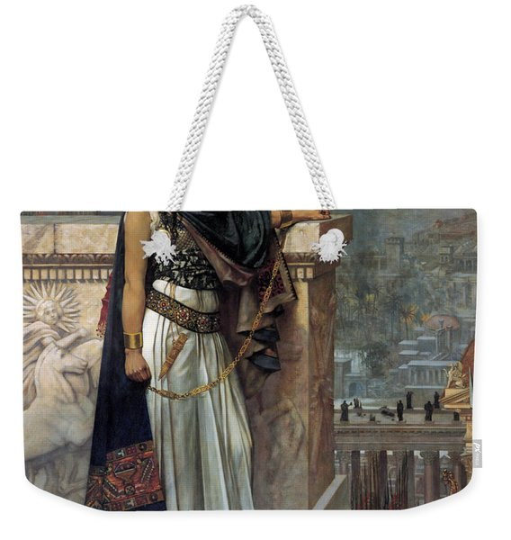 Zenobia's Last Look On Palmyra Weekender Tote Bag