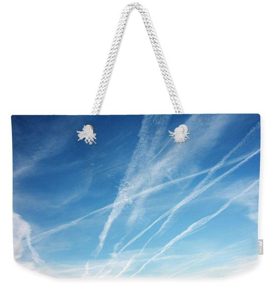 Zephyrus Weekender Tote Bag