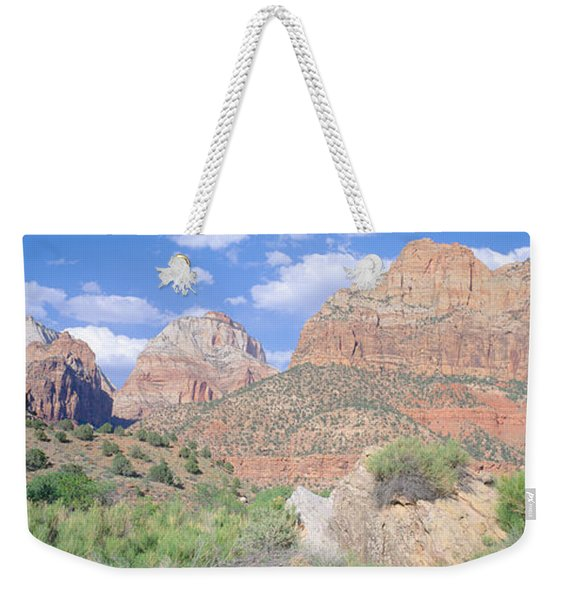Zion National Park, Spring, Southern Weekender Tote Bag