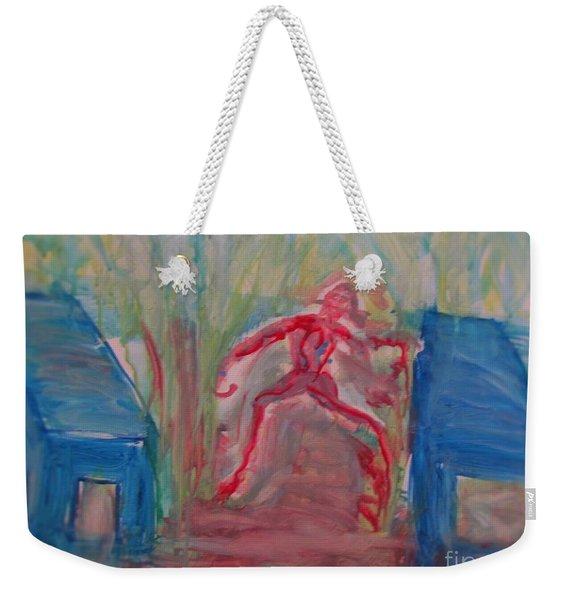 Zombie Weekender Tote Bag