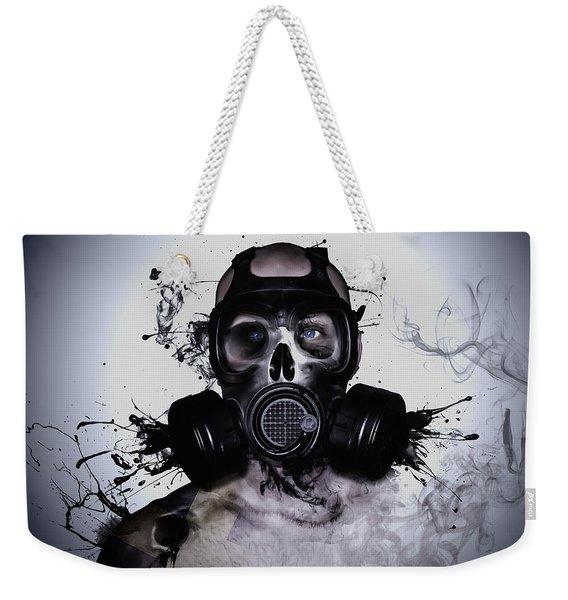 Zombie Warrior Weekender Tote Bag