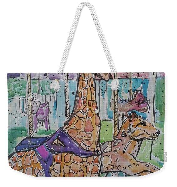 Zoo Atlanta Carousel  Weekender Tote Bag