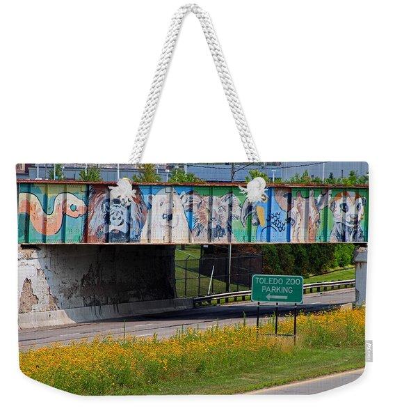 Zoo Mural Weekender Tote Bag