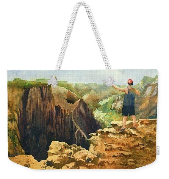 Zoom Weekender Tote Bag
