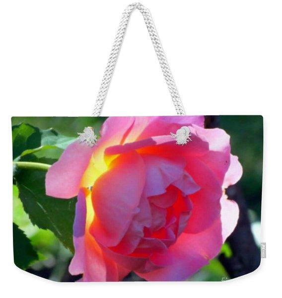 Zora's Garden Rose Weekender Tote Bag