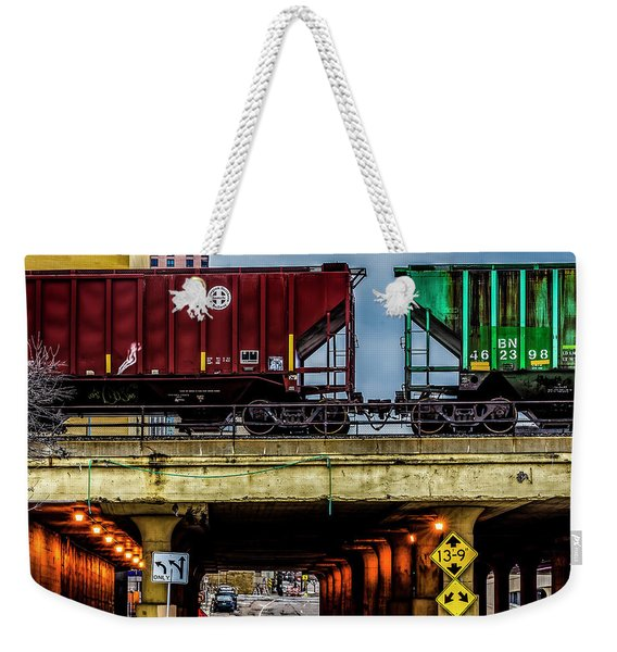 000 - Lowertown Overpass Weekender Tote Bag