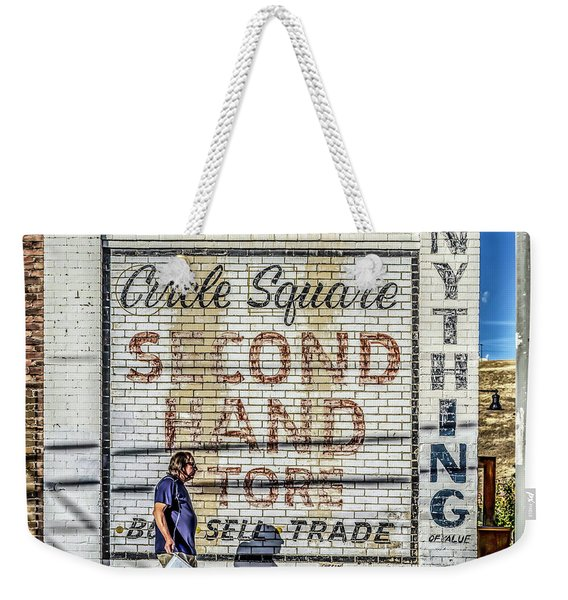 003 - Circle Square Weekender Tote Bag