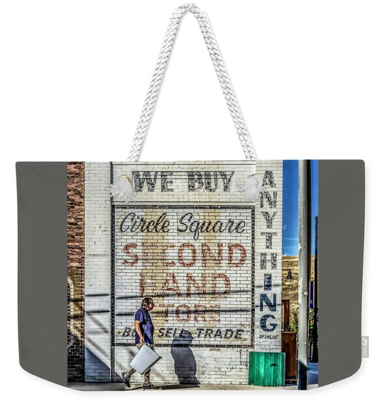 003 - Circle Square Weekender Tote Bag
