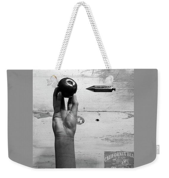 007 - Plumb Plum Weekender Tote Bag