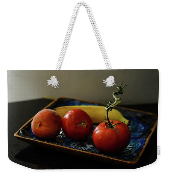 009 - Red Tomato Weekender Tote Bag