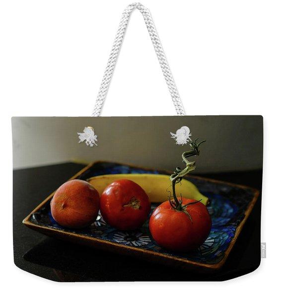 009 - Red Tomato Weekender Tote Bag