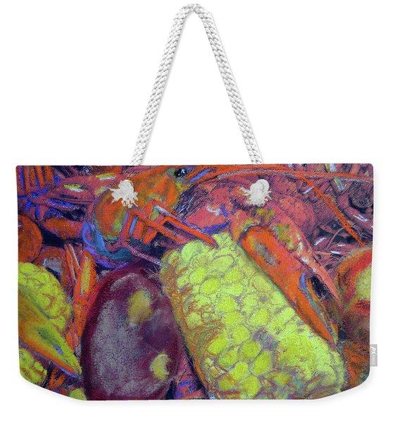 012419, Cajun Mud Bugs Weekender Tote Bag