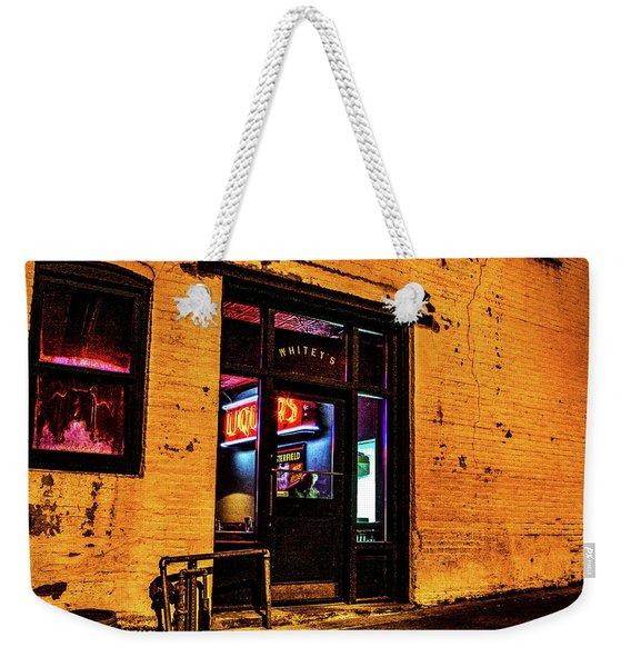 015 - Whitey's Weekender Tote Bag