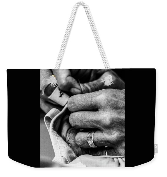016 - Theresa Sewing Weekender Tote Bag
