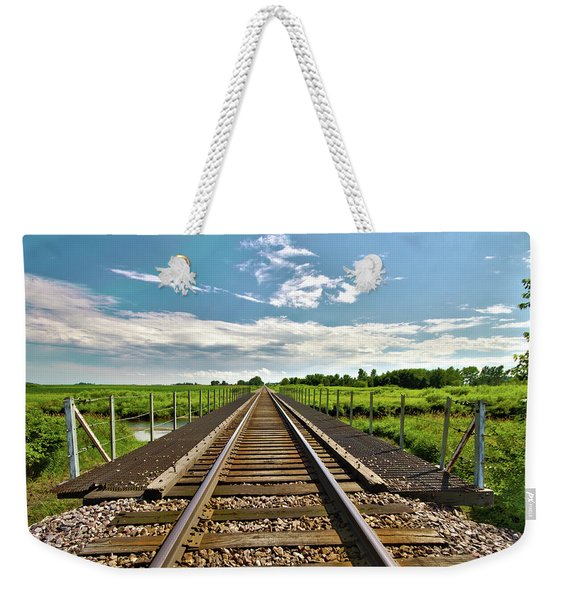 027 - Iowa Rail Weekender Tote Bag